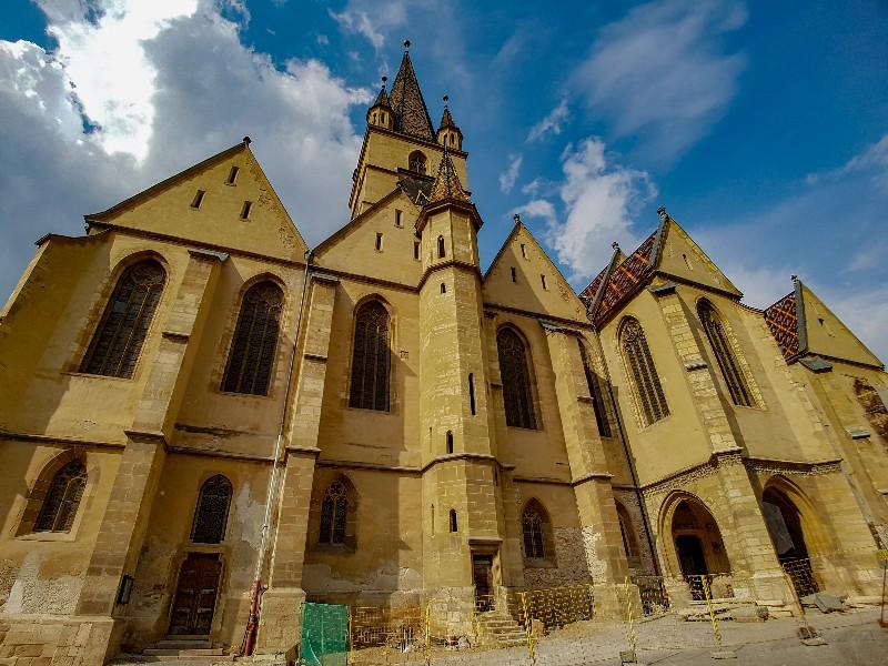 Sibiu Roemenië Lutherse Kathedraal