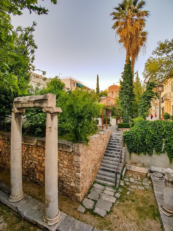 Panaghia Kapnikarea Kerk Athene Griekenland