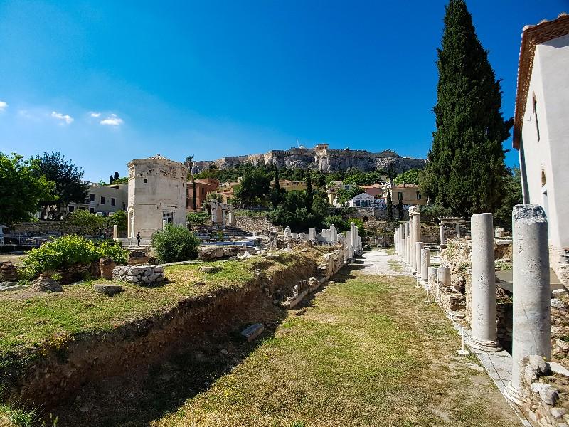 Theater van Dionisyus Athene Griekenland