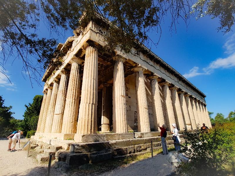 Tempel van Zeus Athene Griekenland