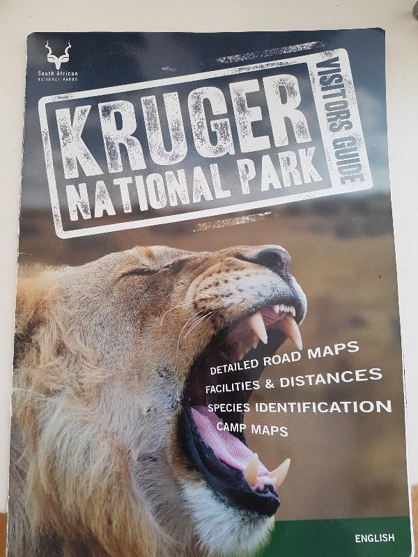Route Krugerpark Zuid Afrika