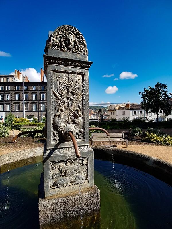 Plein Blaise Pascal Clermont Ferrand Frankrijk