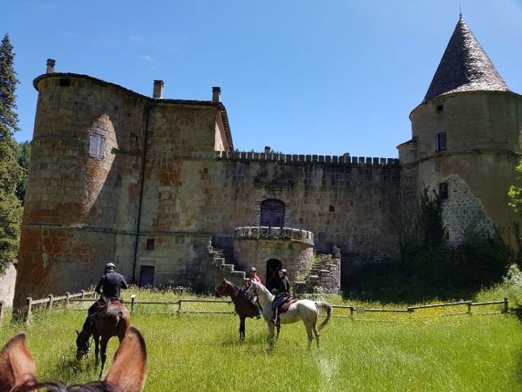 Endurance Sommant Horse team Lozere Frankrijk