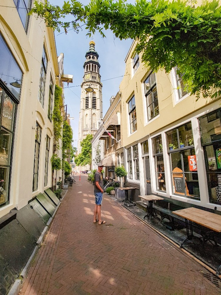 Oude centrum Middelburg Zeeland