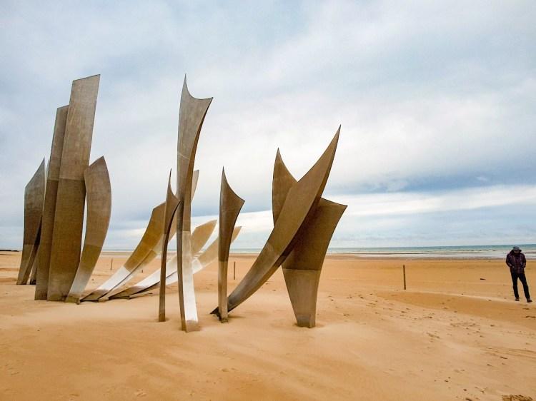 Omaha Beach D day Normandië Frankrijk