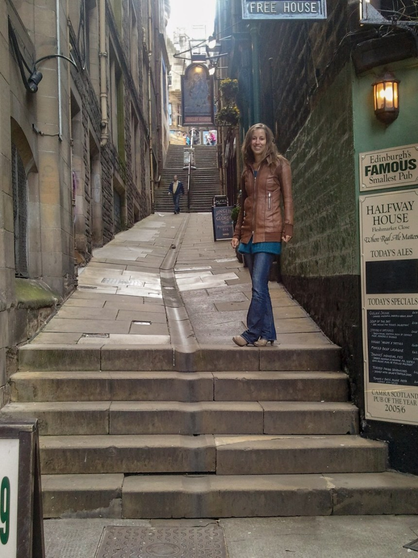 Advocate's Close Edinburgh Engeland Schotland