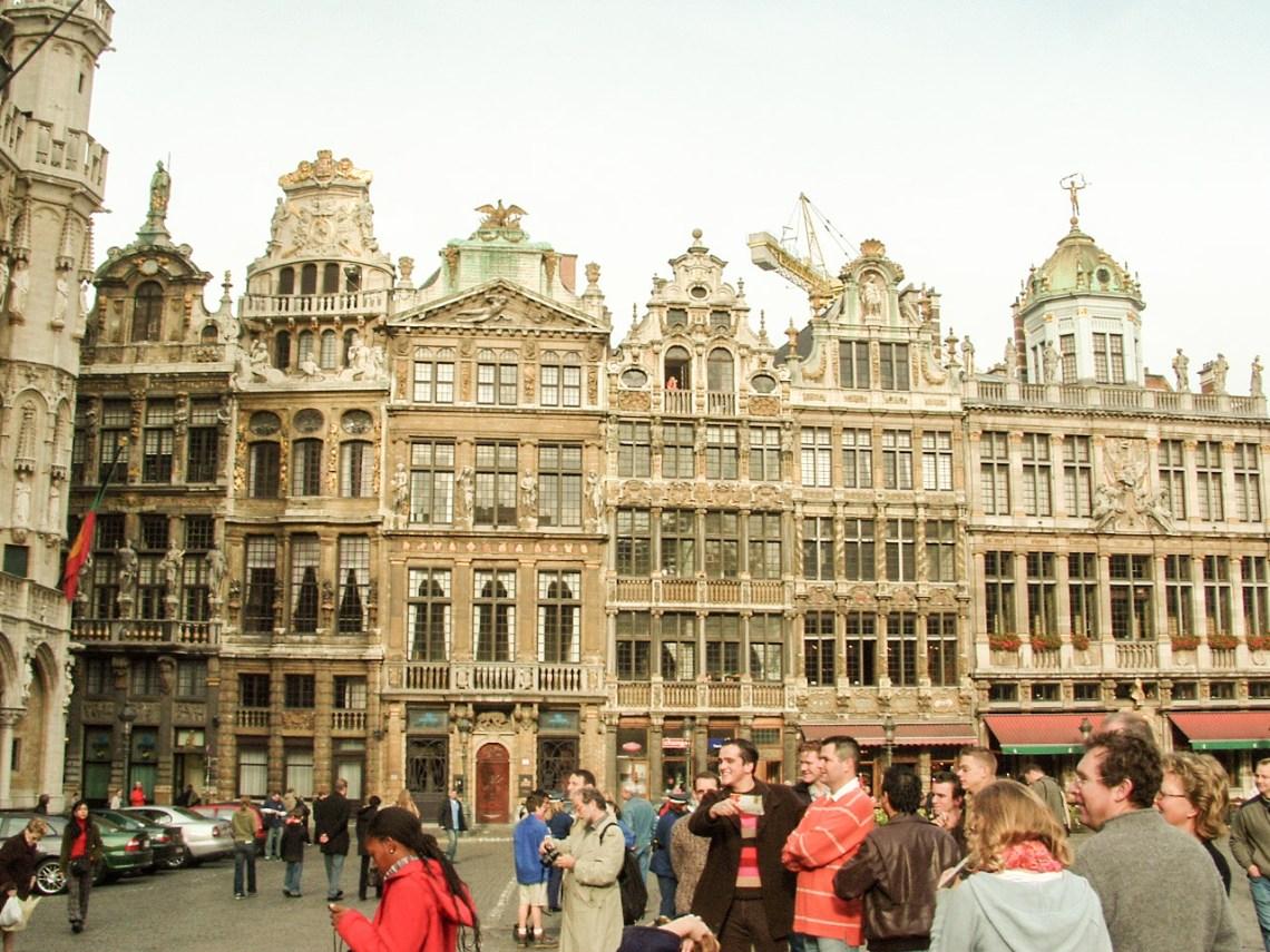 Grote Markt Brussel België