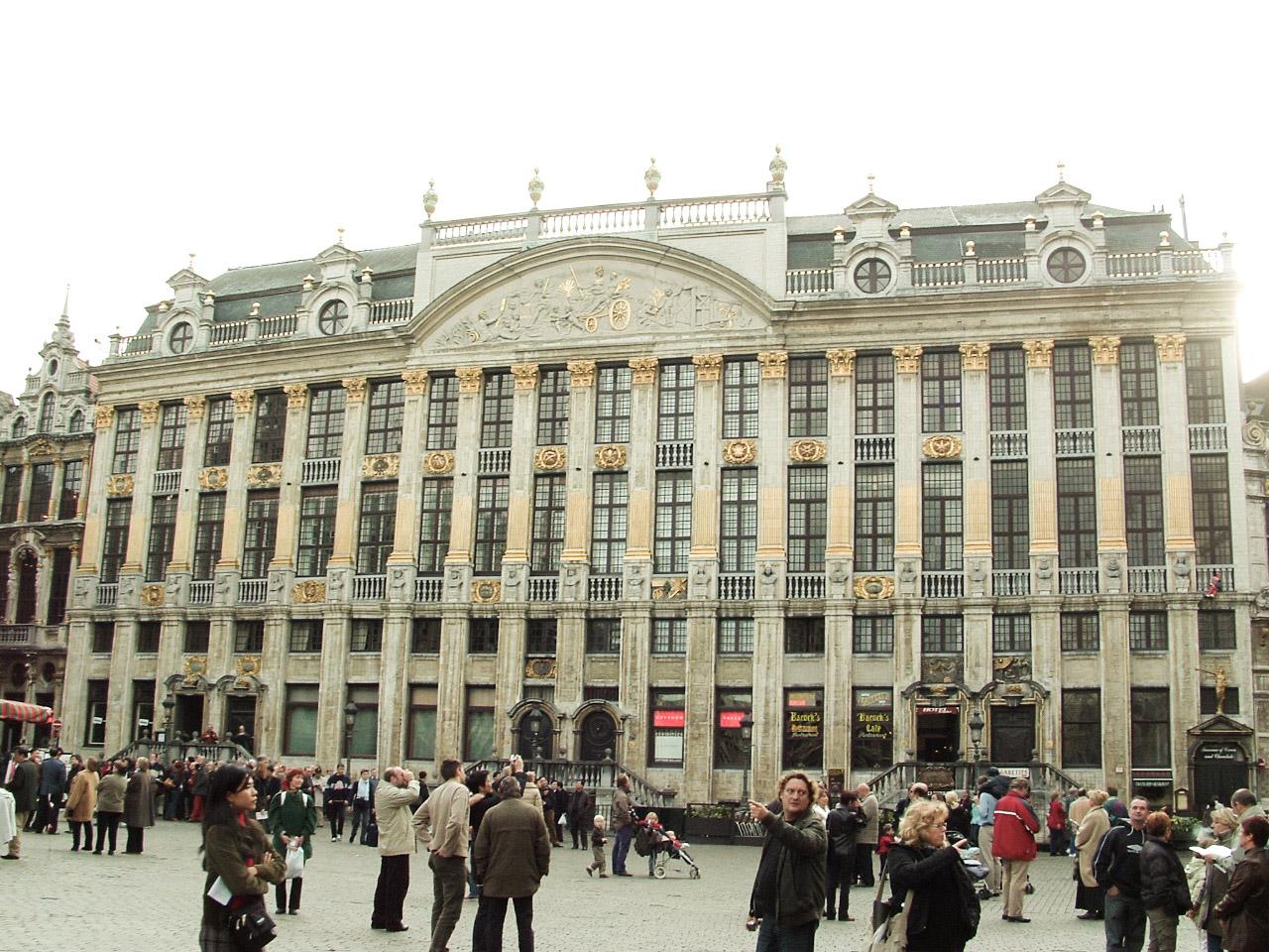 Huis-der-hertogen-van-Brabant Brussel België