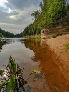 Gauja National Park Sietiniezis Rock Letland