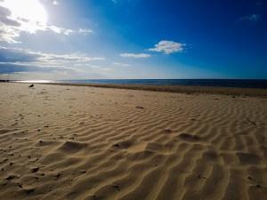Jurmala strand Letlanda