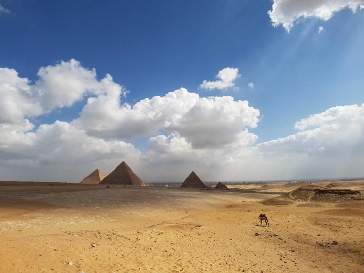 Grote Piramide van Gizeh Caïro Egypte Sfinx Cheops