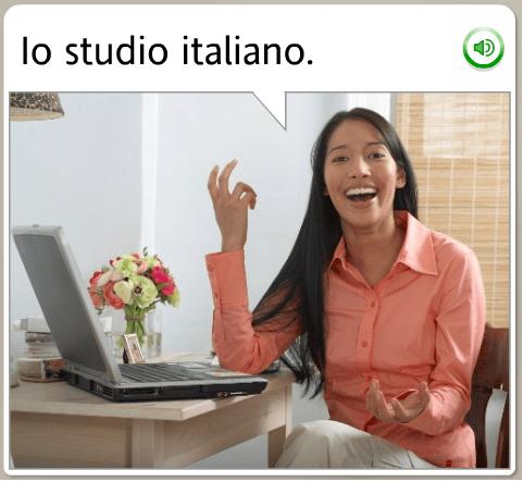 i study italian