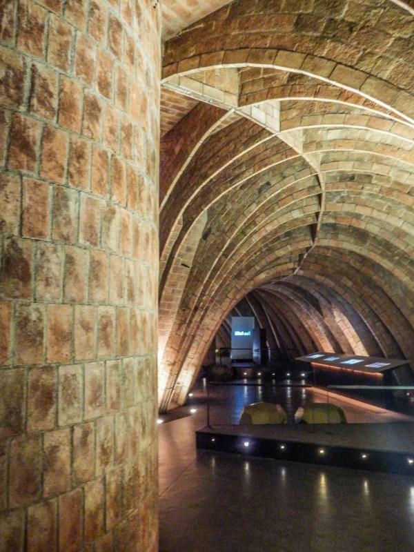 casa mila la pedrera barcelona gaudi attic