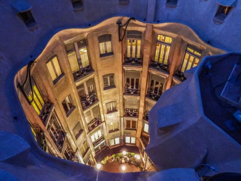 casa mila la pedrera roof gaudi barcelona