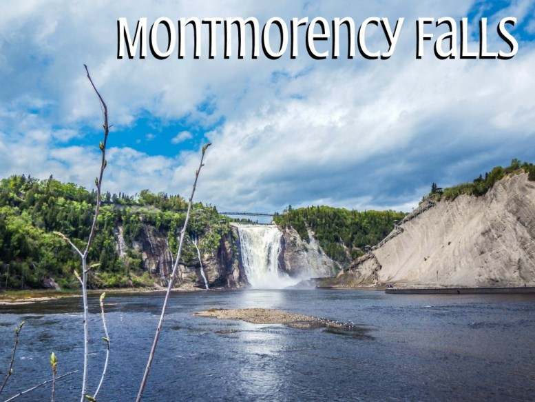 quebec city montmorency falls
