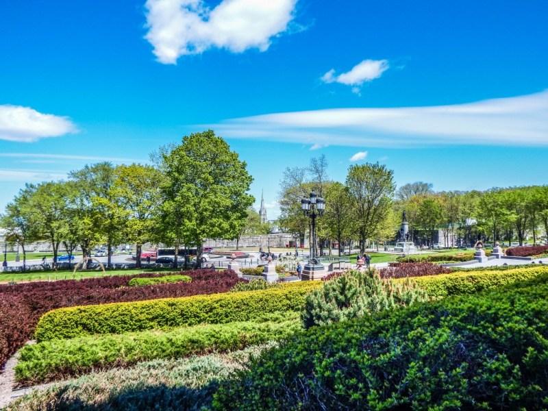 quebec city parliament gardens