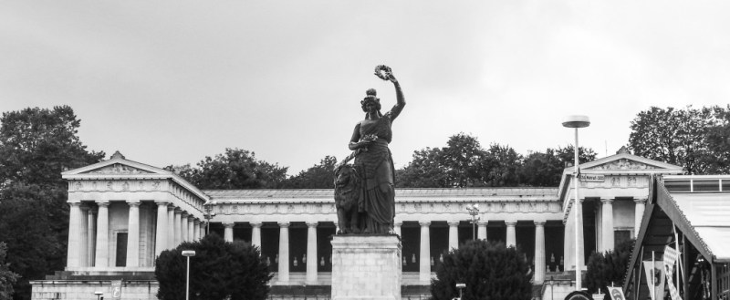 oktoberfest munich bavaria statue