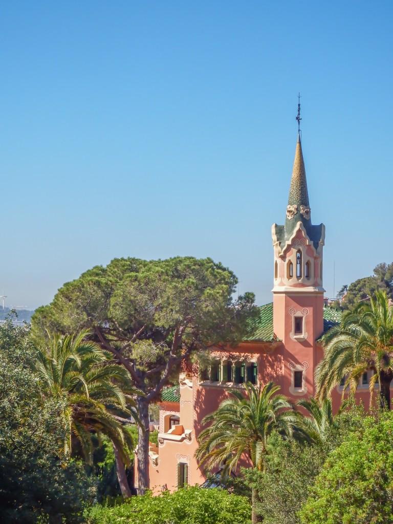 The Gaudí Museum at Park Güell in Barcelona, Spain