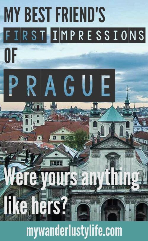 A first-timer's first impressions of Prague, Czech Republic