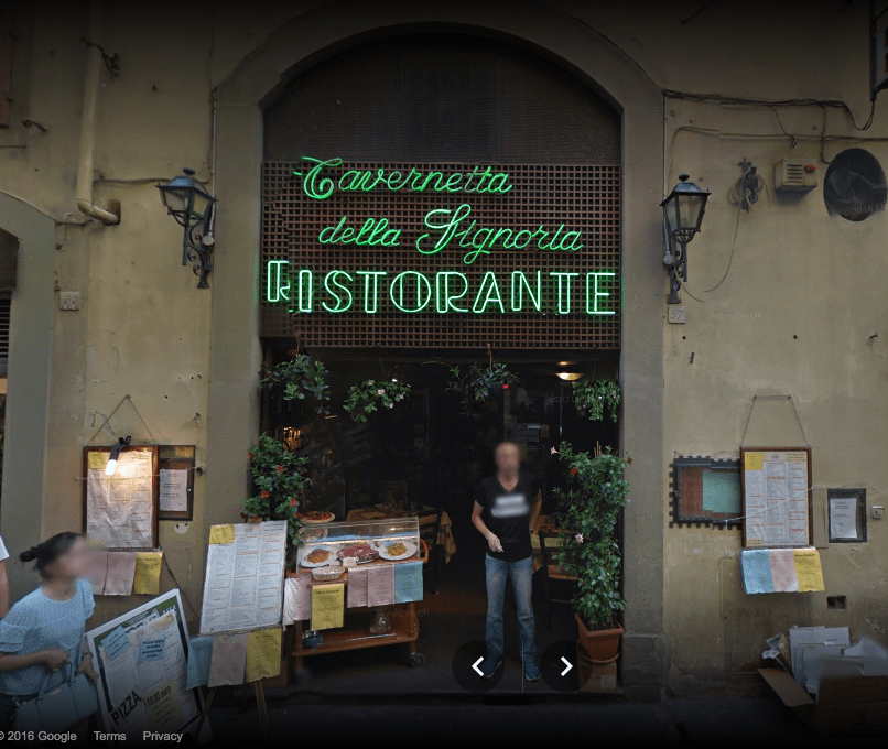 Day two of 2 days in Florence, Italy // My favorite Florentine restaurant: Tavernetta della Signoria