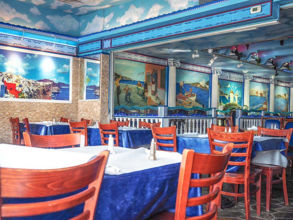 Hellas Restaurant and Bakery at the Sponge Docks in Tarpon Springs, Florida