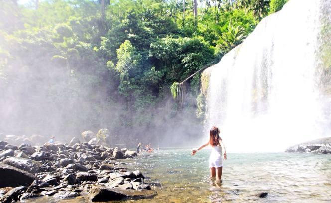 Curtain Falls Campawan