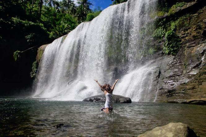 Take A Dip Curtain Falls At Campawan