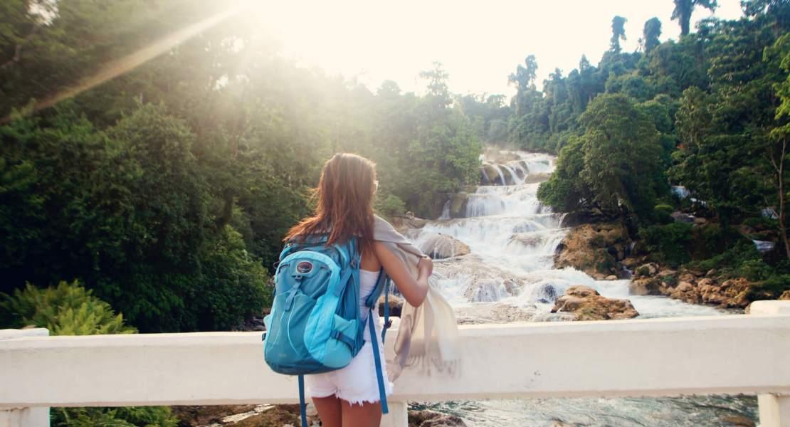 Lor at Aliwagwag falls