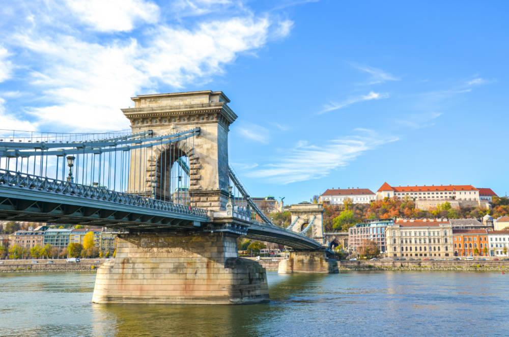 Visutý most, Budapešť