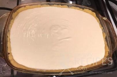 песочное тесто с творожной начинкой