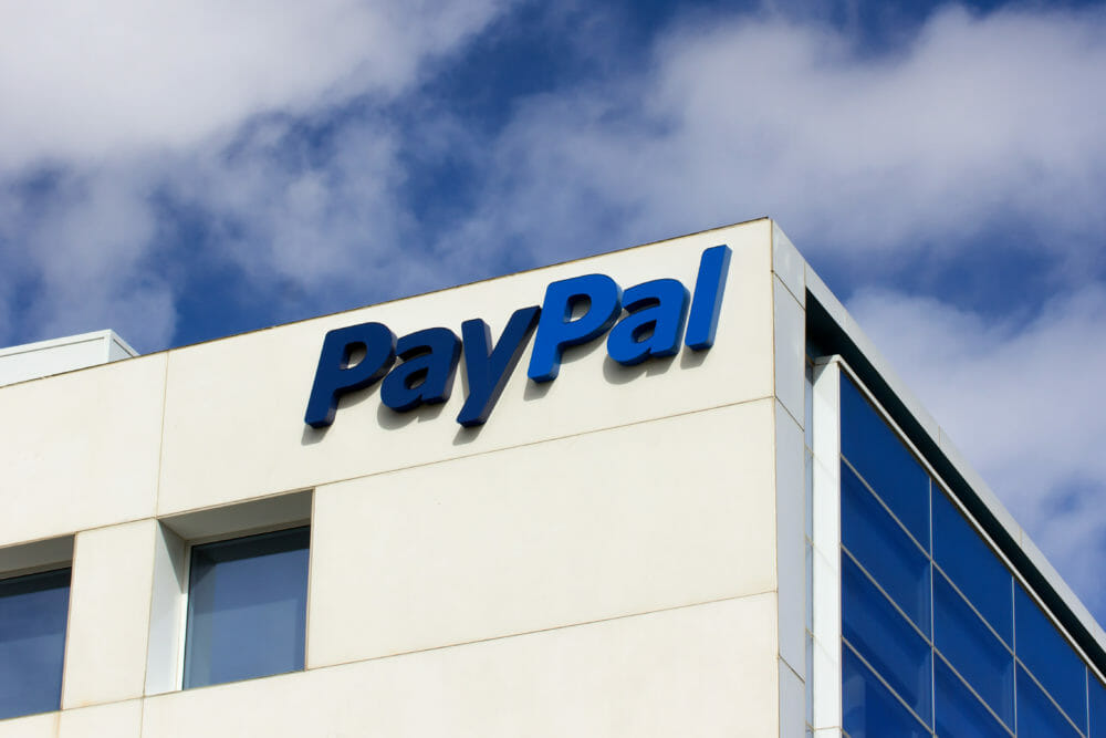 PayPal Corporate Headquarters Sign