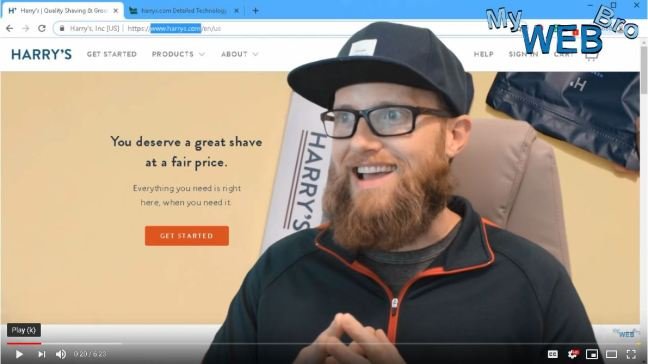 Matt Panepinto MYWEBBRO image of youtube video