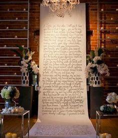 pasillos ceremonia boda