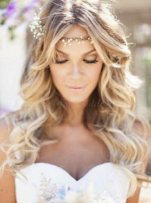 cabello suelto novia