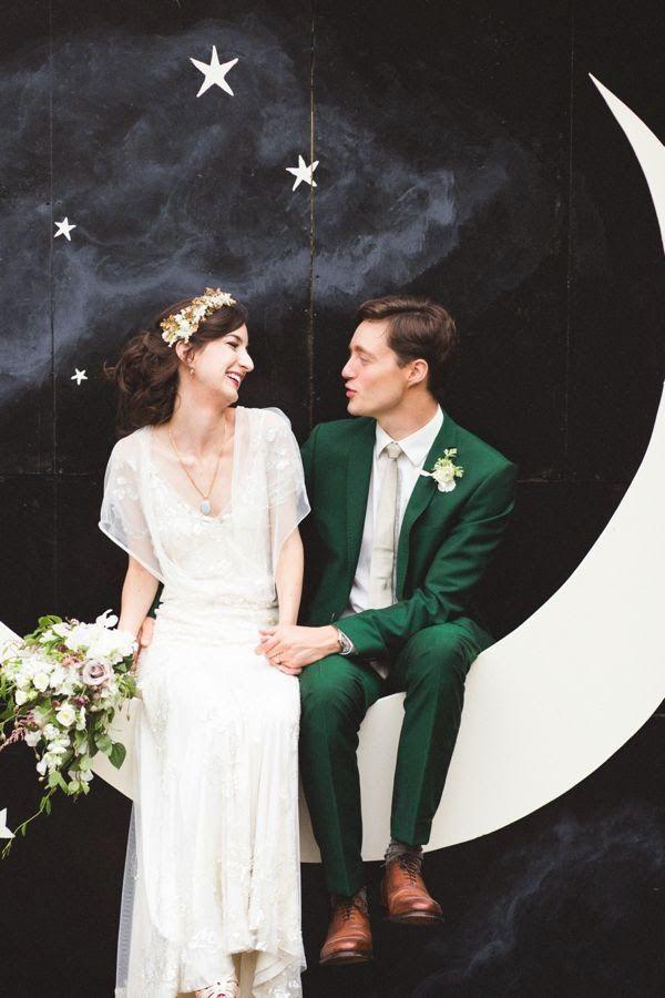 DIY: PHOTOCALL Luna y Estrellas