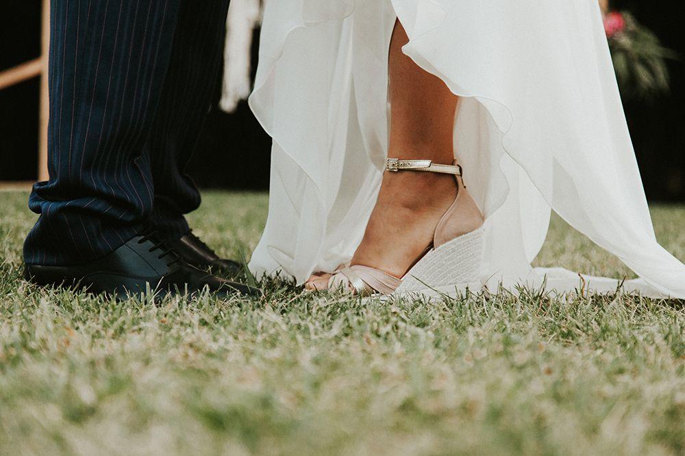 Sandalias boda novia