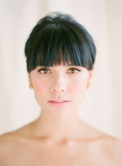 7 Peinados Con Flequillo Para Novias Blog De Bodas My Wedding Diario