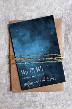 Invitaciones Boda Constelaciones