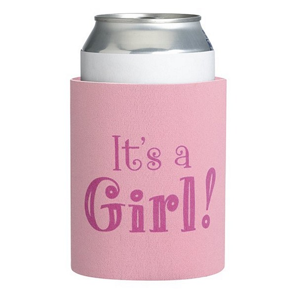 Its A Girl Baby Shower Can Koozies
