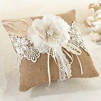 wedding ring pillows and ring bearer