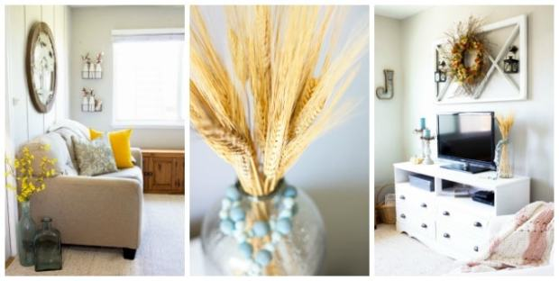 tuesday turn about 17 colorful inspiration living room collage with fall decor