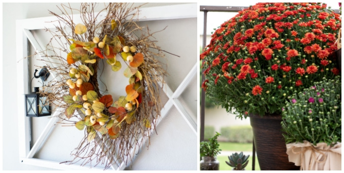 tuesday turn about 119 fall fun collage of fall decor and projects