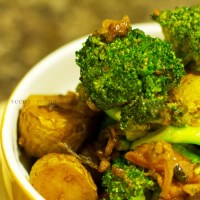 Broccoli and Potato Stir fry