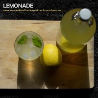 The perfect Summer drink.... Lemonade!