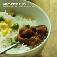 Creamy Moth Bean curry