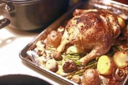 shiitake chicken - pre broil