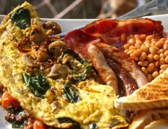 Duck Eggs Omelette