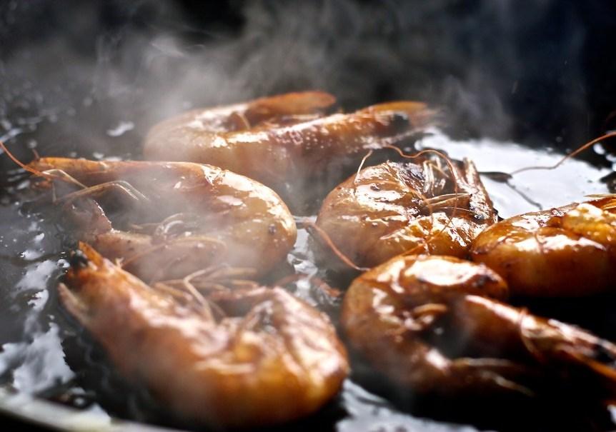 Ghana Style Deep Fried Shrimps