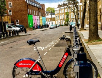 Lone Bicycle Photo Essay: Camden Town
