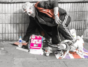 Noticing the Homeless in London